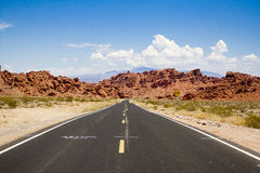 Open Road. Royalty Free Stock Photo