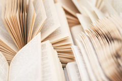 Open  russian books a lot of pages Stock Photography