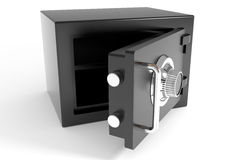 Open safe. Computer generated image Stock Photos