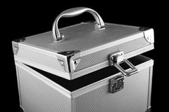 Open safe box royalty free stock image