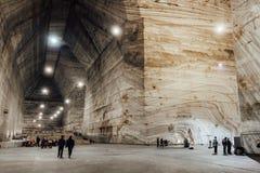 Open Salt Mine, Romania Stock Photography