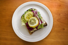 Open sandwich Stock Photos