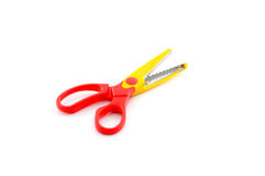 Open scissors for kids Royalty Free Stock Photo