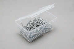 Open screw box Royalty Free Stock Photos