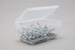 Open screw box Royalty Free Stock Images