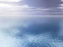 Open Sea Background. A high Aerial Open Sea Background Stock Photography