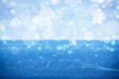Open sea, bokeh Royalty Free Stock Photo