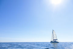 Open sea sailing Stock Photo