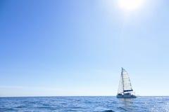 Open sea sailing Stock Photo