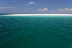 Open Sea and Sand Bar Stock Photography
