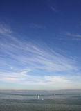 Open Seas and Sky. View of San Francisco Bay stock images
