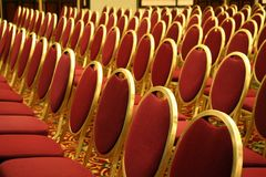 Open Seating at an Auditorium Royalty Free Stock Photography