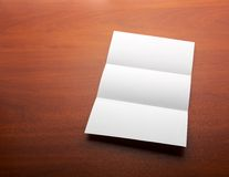Open sheet of paper Royalty Free Stock Images