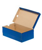 Open Shoe Box. Royalty Free Stock Photo