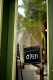 Open shop sign Royalty Free Stock Photos