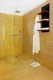 Open shower Stock Image