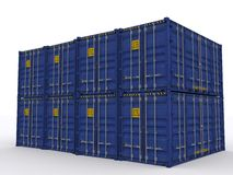 Open side container Royalty Free Stock Images