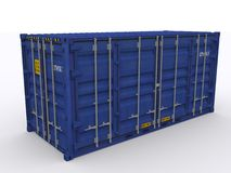 Open side container Stock Images