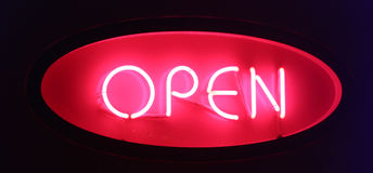 Open sign Stock Photos