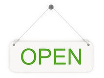 Open sign Royalty Free Stock Images