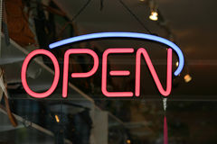 Open Sign Royalty Free Stock Image