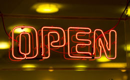Free Open Sign Stock Images - 83344744