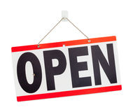 Open Sign stock photography