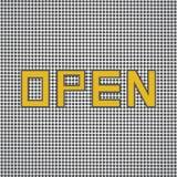 Open Sign Retro