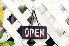 Open Signs. Royalty Free Stock Photos