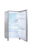 Open single door fridge Stock Images