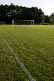Open Soccer Field Stock Photo