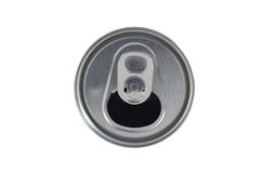 Open Soda Can Lid On White Background Stock Photo
