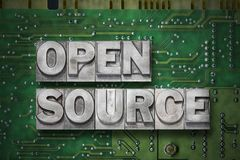 Open source gr Royalty Free Stock Photography