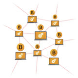 Open-source money Bitcoin Stock Images