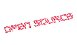Open Source rubber stamp Stock Image
