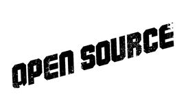 Open Source rubber stamp Royalty Free Stock Photo