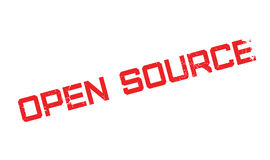 Open Source rubber stamp Royalty Free Stock Photography