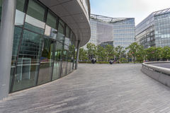 Open space around London City Hall Royalty Free Stock Images