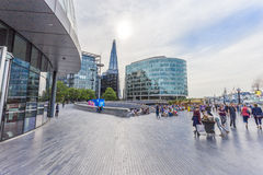 Open space around London City Hall Royalty Free Stock Photo