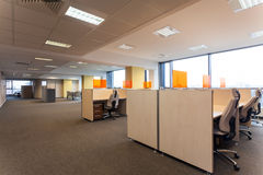Open space in the office Royalty Free Stock Image