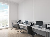 Open space office Royalty Free Stock Photos