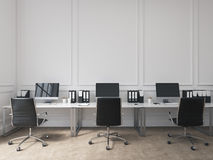 Open space office Royalty Free Stock Photo