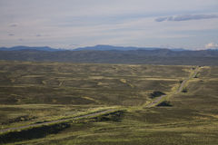 Open spaces of Tuva royalty free stock photos