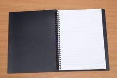 Open spiral book Stock Photos