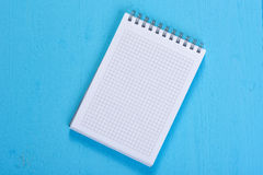 Open Spiral Notebook Royalty Free Stock Photos
