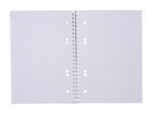 Open spiral notepad Royalty Free Stock Photo