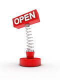 Open on a spring Royalty Free Stock Images