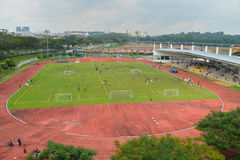 Open stadion Royalty-vrije Stock Foto's