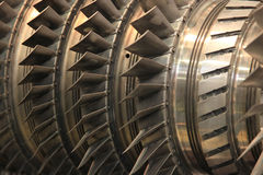 Open the steam turbine Stock Photos