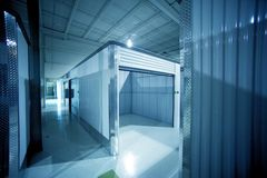 Open Storage Unit Stock Image